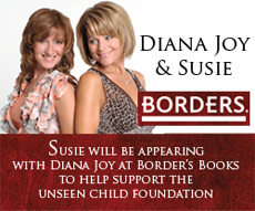 Diana Joy and Susie at Borders